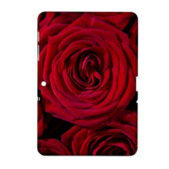 Roses Flowers Red Forest Bloom Samsung Galaxy Tab 2 (10 1 ) P5100 Hardshell Case