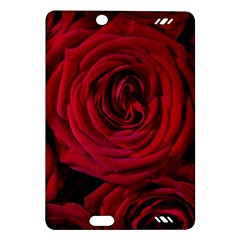 Roses Flowers Red Forest Bloom Amazon Kindle Fire Hd (2013) Hardshell Case