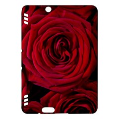Roses Flowers Red Forest Bloom Kindle Fire Hdx Hardshell Case