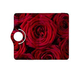 Roses Flowers Red Forest Bloom Kindle Fire Hdx 8 9  Flip 360 Case
