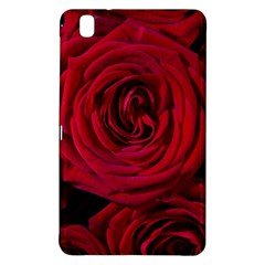 Roses Flowers Red Forest Bloom Samsung Galaxy Tab Pro 8 4 Hardshell Case