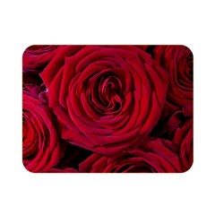 Roses Flowers Red Forest Bloom Double Sided Flano Blanket (mini)