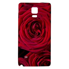 Roses Flowers Red Forest Bloom Galaxy Note 4 Back Case