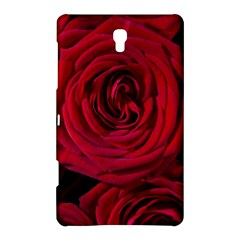 Roses Flowers Red Forest Bloom Samsung Galaxy Tab S (8 4 ) Hardshell Case