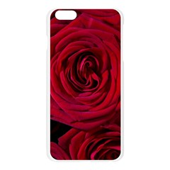 Roses Flowers Red Forest Bloom Apple Seamless iPhone 6 Plus/6S Plus Case (Transparent)