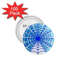 Cobweb Network Points Lines 1 75  Buttons (100 Pack)
