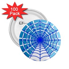 Cobweb Network Points Lines 2 25  Buttons (100 Pack)