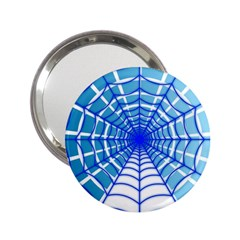 Cobweb Network Points Lines 2 25  Handbag Mirrors
