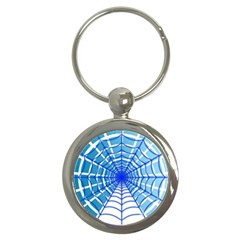 Cobweb Network Points Lines Key Chains (round)