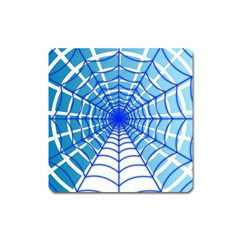 Cobweb Network Points Lines Square Magnet