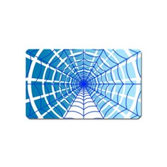 Cobweb Network Points Lines Magnet (name Card)