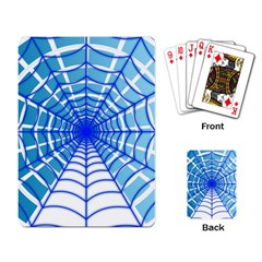 Cobweb Network Points Lines Playing Card