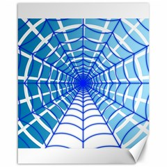 Cobweb Network Points Lines Canvas 16  X 20