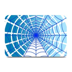 Cobweb Network Points Lines Plate Mats