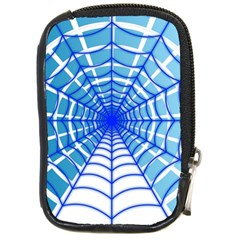 Cobweb Network Points Lines Compact Camera Cases