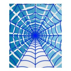 Cobweb Network Points Lines Shower Curtain 60  X 72  (medium)