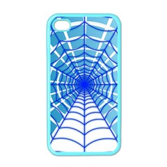 Cobweb Network Points Lines Apple iPhone 4 Case (Color)