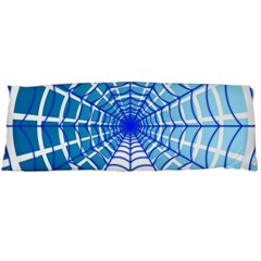 Cobweb Network Points Lines Body Pillow Case (Dakimakura)
