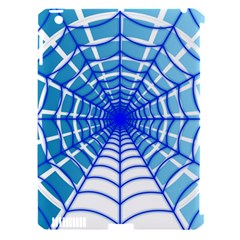 Cobweb Network Points Lines Apple Ipad 3/4 Hardshell Case (compatible With Smart Cover)