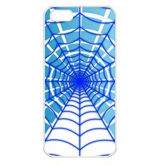 Cobweb Network Points Lines Apple Iphone 5 Seamless Case (white)