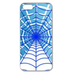 Cobweb Network Points Lines Apple Seamless Iphone 5 Case (clear)