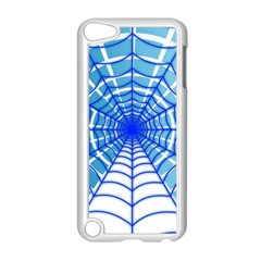 Cobweb Network Points Lines Apple iPod Touch 5 Case (White)