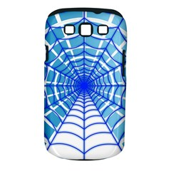 Cobweb Network Points Lines Samsung Galaxy S Iii Classic Hardshell Case (pc+silicone)