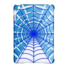 Cobweb Network Points Lines Apple iPad Mini Hardshell Case (Compatible with Smart Cover)