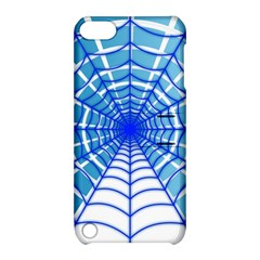 Cobweb Network Points Lines Apple Ipod Touch 5 Hardshell Case With Stand