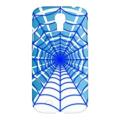 Cobweb Network Points Lines Samsung Galaxy S4 I9500/i9505 Hardshell Case