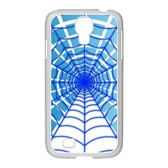 Cobweb Network Points Lines Samsung Galaxy S4 I9500/ I9505 Case (white)