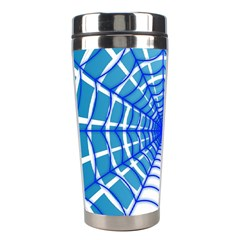 Cobweb Network Points Lines Stainless Steel Travel Tumblers