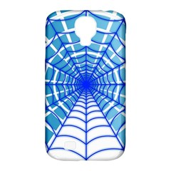 Cobweb Network Points Lines Samsung Galaxy S4 Classic Hardshell Case (pc+silicone)