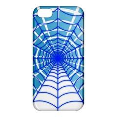 Cobweb Network Points Lines Apple Iphone 5c Hardshell Case