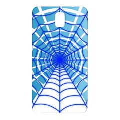 Cobweb Network Points Lines Samsung Galaxy Note 3 N9005 Hardshell Back Case