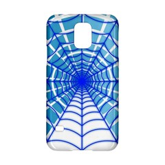 Cobweb Network Points Lines Samsung Galaxy S5 Hardshell Case