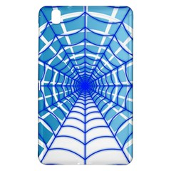 Cobweb Network Points Lines Samsung Galaxy Tab Pro 8 4 Hardshell Case