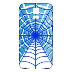 Cobweb Network Points Lines Samsung Galaxy S5 Back Case (white)