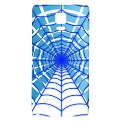 Cobweb Network Points Lines Galaxy Note 4 Back Case