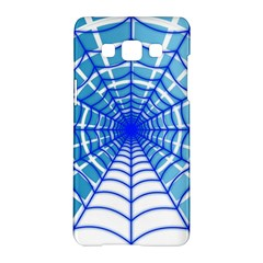 Cobweb Network Points Lines Samsung Galaxy A5 Hardshell Case