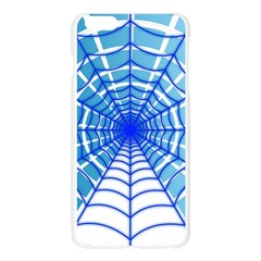 Cobweb Network Points Lines Apple Seamless iPhone 6 Plus/6S Plus Case (Transparent)