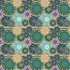 Flower Sunflower Floral Circle Star Color Purple Blue Magic Photo Cubes