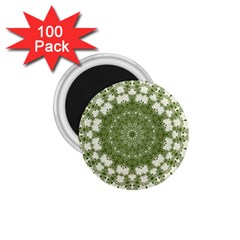 Mandala Center Strength Motivation 1 75  Magnets (100 Pack)