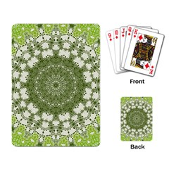 Mandala Center Strength Motivation Playing Card