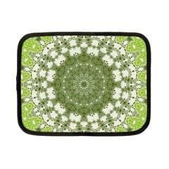 Mandala Center Strength Motivation Netbook Case (Small)