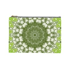 Mandala Center Strength Motivation Cosmetic Bag (large)