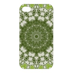 Mandala Center Strength Motivation Apple Iphone 4/4s Hardshell Case