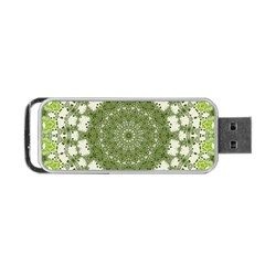 Mandala Center Strength Motivation Portable Usb Flash (one Side)