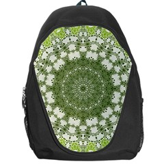 Mandala Center Strength Motivation Backpack Bag