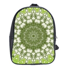 Mandala Center Strength Motivation School Bags (xl)